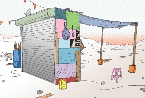 Refugee Reading Room