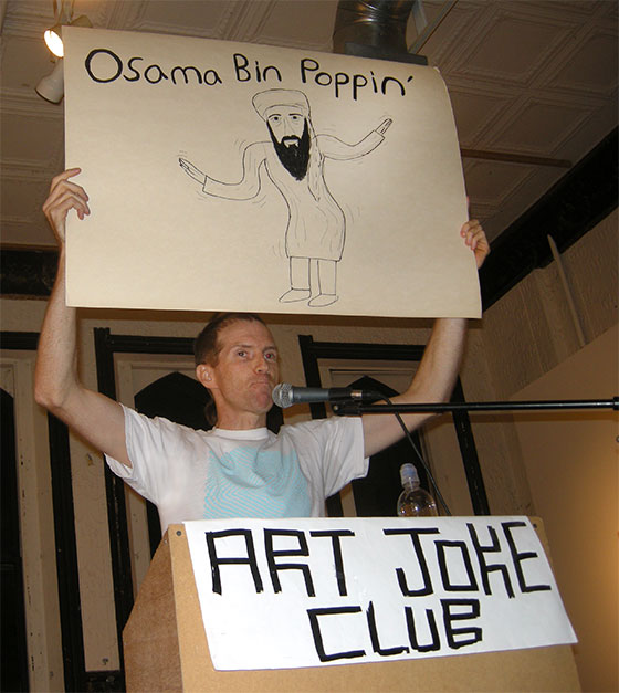 Andrew Jeffrey Wright art joke club