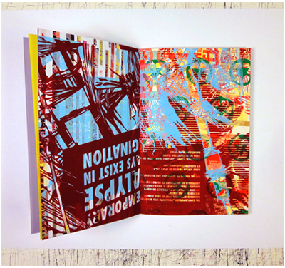 Mark Price, zine, Obsessive Themes, 2012