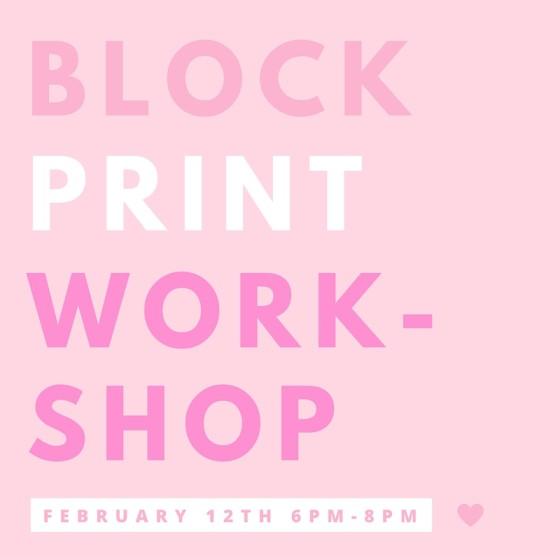 Block Print Workshop