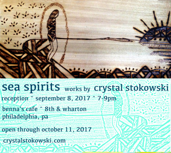 Sea Spirits Opens September 8th 7-9pm